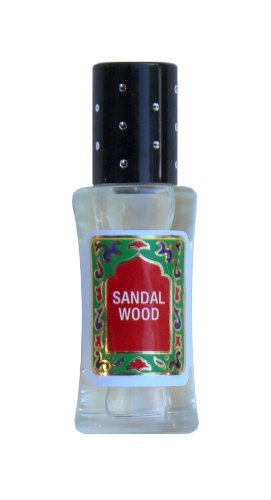 Sandal Wood Perfume Oil - SandalWood Oil by Nemat Fragrances (10ml/0.33 Fl Oz) (Best Sandalwood Perfume Oil)