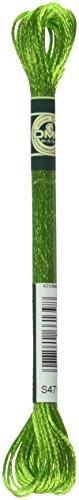 DMC 1008F-S471 Shiny Radiant Satin Floss, Avocado Green, ...