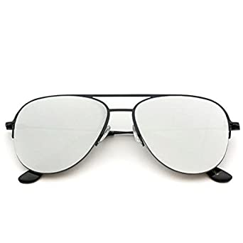 3951c4baaf2e Image Unavailable. Image not available for. Color  WearMe Pro - Classic  Half Frame Polarized Semi-Rimless Rimmed Sunglasses