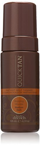 4.2 Ounce Self Tanner (Body Drench Quick Tan Instant Self Tanner Mousse, Medium/Dark, 4.2 Ounce by Body Drench)
