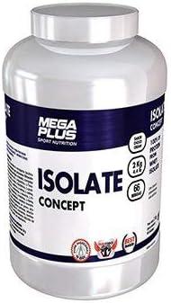 MEGA PLUS ISOLATE CONCEPT - Complemento alimenticio a base de Proteina isolada - 1Kg, Chocolate blanco