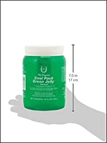 Horse Health Cool Pack Green Jelly Liniment for Horses, 64-Ounce