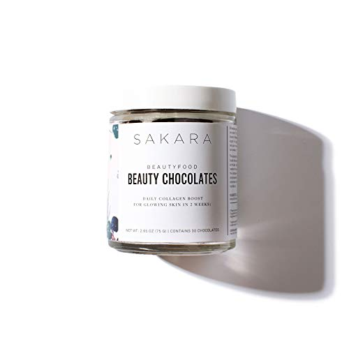 Sakara Beauty Chocolates - Plant Collagen Boost for Skin w/phytoceramides 30ct (1)