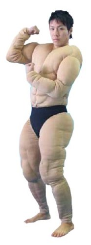 Muscle suit THE KINNIKUSUIT (japan import) by cosplay JP -