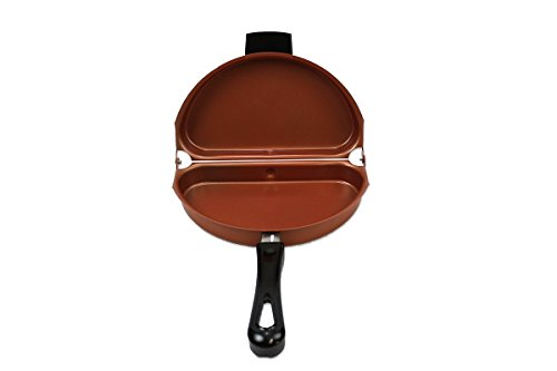 Copperhead Collection Folding NonStick Omelet Pan 09209
