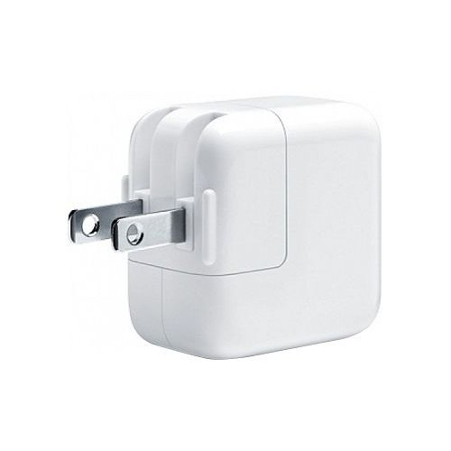Apple MD836LL/A Apple 12W USB Wall Adapter Original OEM MD836LL/A 2.4 AMP - Wall Charger - Non-Retail Packaging - White