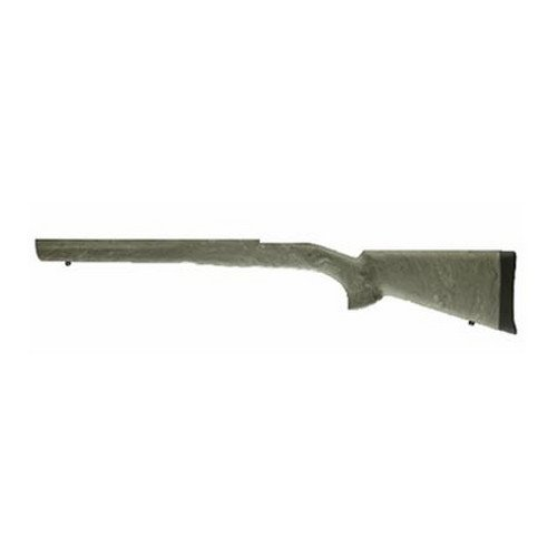 Hogue 98802 Mauser 98 OverMolded Stock, Military/Sporter Actions, Full B ED Block Ghillie Green