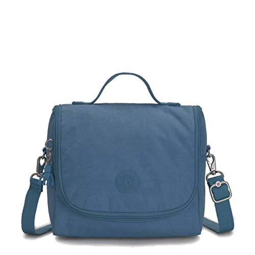 "Kipling Kichirou Insulated Lunch Bag, Mystic Blue, 9""L X 8""H X 5""D"