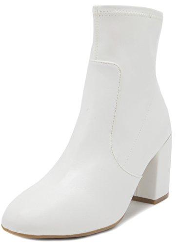 Rampage Women's Itsie Winter Ankle Bootie 11 White