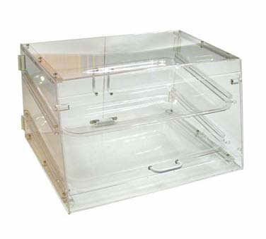 Winco ADC-2 2-Tier Pastry Display Case, Acrylic - Display Case 2 Tier