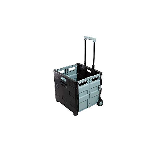 Staples Expanding Folding Crate on Wheels
