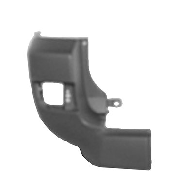 (New Rear Driver Side Bumper End For 2003-2005 Toyota 4runner Textured, For Sr5 And Sport Models Plastic TO1104117 5215335120)