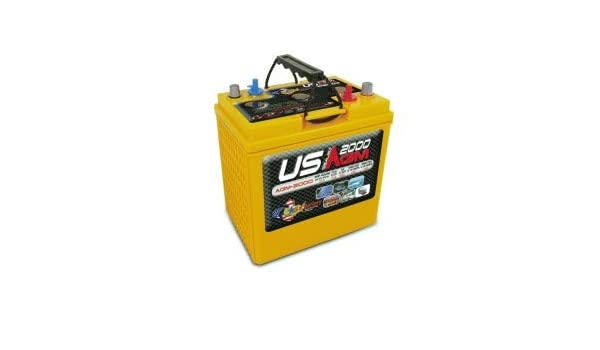 Amazon com: US AGM2000 6 Volt Deep Cycle Battery: Industrial