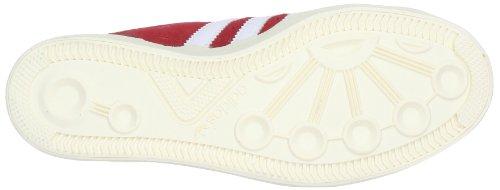 adidas Performance Basket Profi Lo - Zapatillas Rojo - Rot (VIVID RED S13 / RUNNING WHITE FTW / ECRU)