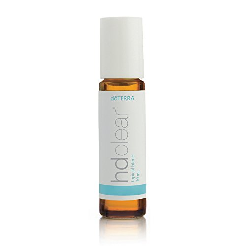 doTERRA - HD Clear Essential Oil Topical Blend - Promotes Clear Complexion, Helps to Keep Skin Clean, Clear, and Hydrated, Helps Reduce Breakouts; for Topical Use - 10 mL
