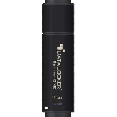 DataLocker Sentry ONE Encrypted Flash Drive – 4 GB – USB 3.1-256-bit AES – TAA Compliant