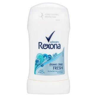 Good Seller ! Rexona Women Shower Clean Fresh Dry Deo Stick Anti-Perspirant 48h 40 ml (Fresh Deo Stick)