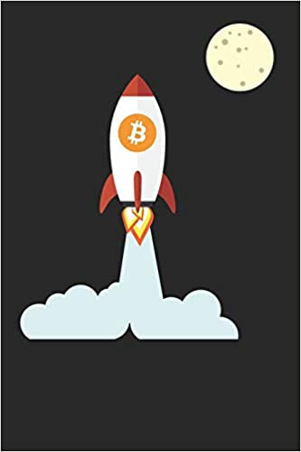Bitcoin Rocket: Blank Lined Notebook for Cryptocurrency ...