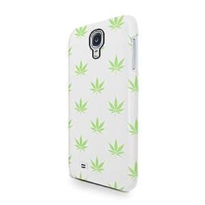 Weed Marijuana Leaf Pattern Hard Plastic Samsung Galaxy S4 Phone Case Cover