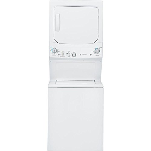 GE Space Maker GUD27ESSMWW 27″ White Electric Laundry Center Washer Dryer