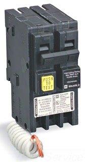 Square D Ground Fault Circuit Breaker, HOM220GFI