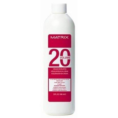 Matrix Socolor Cream Developer 10, 20, 30, 40 Volume (20 volume) by Matrix [Beauty] (Matrix Developer 30 Volume compare prices)
