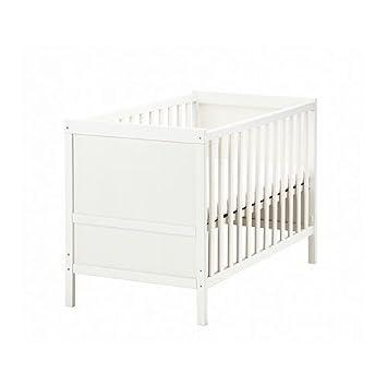 Amazon Ikea Sundvik Crib White Baby