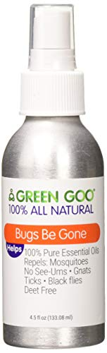 Green Goo All-Natural Skin Care, Bugs Be Gone, Insect Repellent Spray, 4.5 Ounce