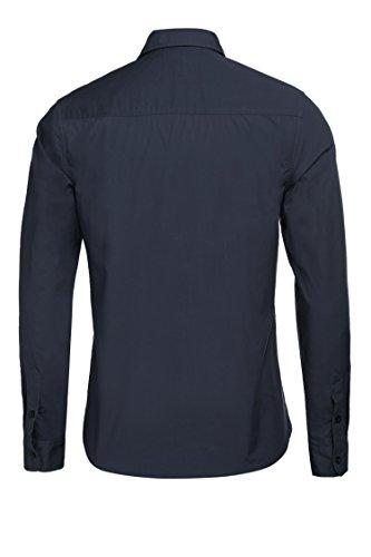 Detailorpin Men's Business Dress Shirt Slim Fit Contrast Button Down Long Sleeve Shirt by Detailorpin (Image #3)