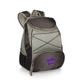 (PICNIC TIME NCAA Kansas State Wildcats PTX Insulated Backpack Cooler, Black)