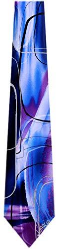 JG-XL-6203 - Jerry Garcia Extra Long Silk XL Big and Tall Designer Necktie Ties (Jerry Garcia Extra Long Ties)