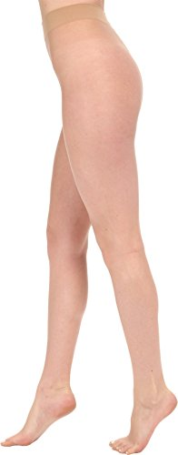 (Wolford Women's Nude 8 Tights, Fairly Light, LG)