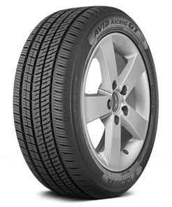 (YOKOHAMA AVID ASCEND GT all_ Season Radial Tire-185/55R16 83H)