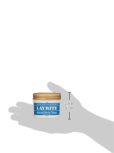 Layrite Natural Matte Cream Pomade, 4.25 oz. by Layrite (Image #4)
