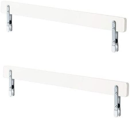 Sbarre Per Letto Ikea.Ikea Vikare Sponda Per Letto Legno Bianco 90x8x4 Cm Ikea Of