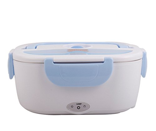 Taipove Electric 110V/1.05L Heating Lunch Box (Plastic Container, (Best Halloween Plastic Containers)