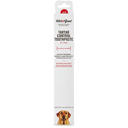 Well & Good Tartar Control Toothpaste for Dogs, Chicken Flavor