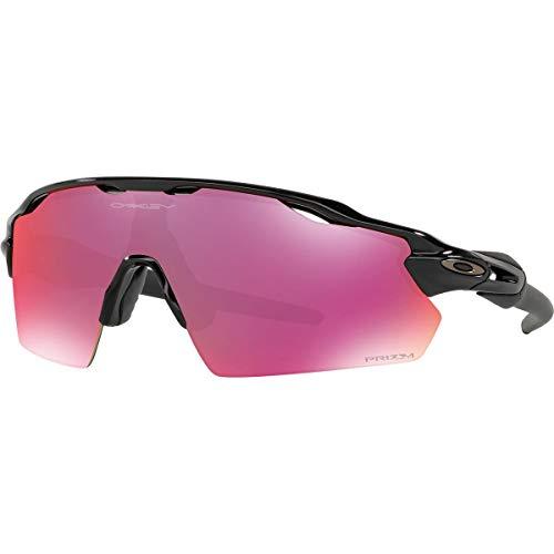 Oakley Men's Radar Ev Path Non-Polarized Iridium Rectangular Sunglasses, Polished Black, 0 mm Review