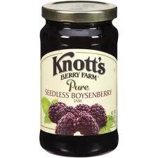 Knott's Berry Farm Pure Seedless Boysenberry Jam