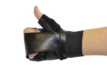 Gripeeze Fingerless Sports Glove Right - Gripeez Pads Finger