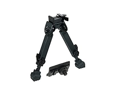 UTG Rubber Armored Full Metal QD Bipod, Height 6.0
