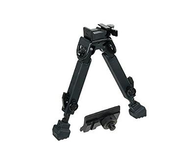 UTG Rubber Armored Full Metal QD Bipod, Height 6.0