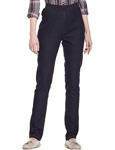 Taille Longueur Jersey Pour Avec 74cm Jean Amber X En 79cm Noir Femme Bq1wC