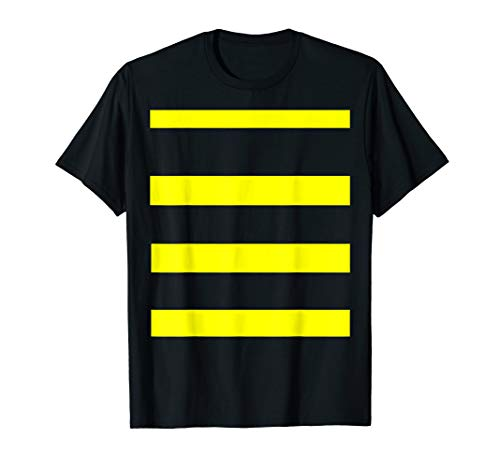 Funny Bee Costume Easy Shirt - Honeybee Halloween Cheap Gift T-Shirt]()