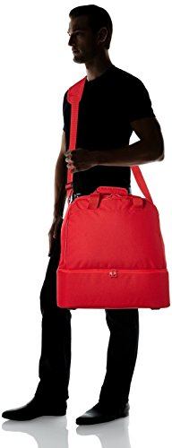 Adidas Teambag M mit Bodenfach Tiro15 Rot