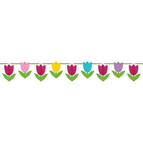 Amscan 229716 Garland Supplies Item, 10 feet, Multicolor ()