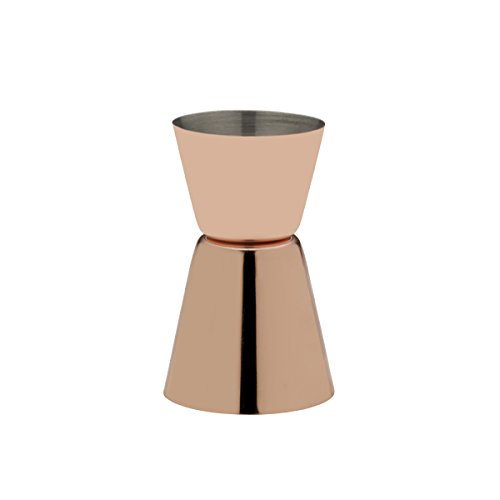 Towle Living Plated Double Jigger, Modernist Copper by Towle Living