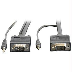 Tripp Lite VGA coaxial para monitor cable de alta resolución RGB de audio cable coaxial HD15
