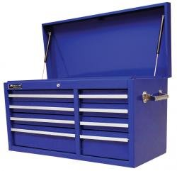 - Homak 41-Inch Professional Series 8-Drawer Top Chest, Blue, BL02008410