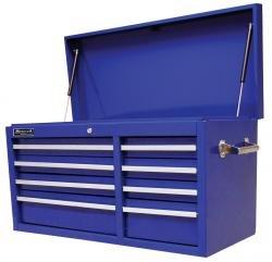 Professional Tool Storage Chest Series (Homak 41-Inch Professional Series 8-Drawer Top Chest, Blue, BL02008410)
